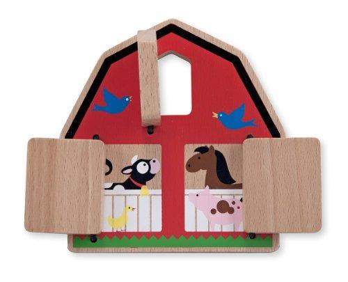 Melissa & Doug Peek-a-Boo Barn - 1