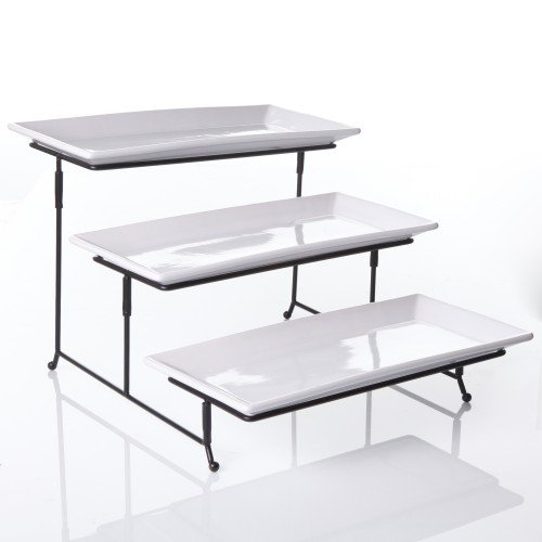 3 Tier Rectangular Serving Platter