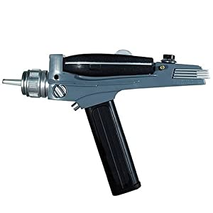 Diamond Select Toys Star Trek: The Original Series Black Handle Phaser from Diamond Select Toys