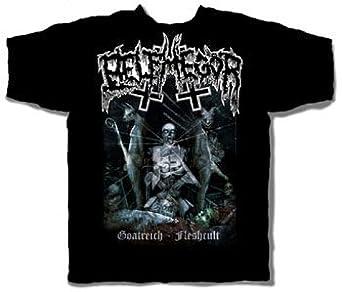 Belphegor - Goatreich Adult T-Shirt, X-Large, Black