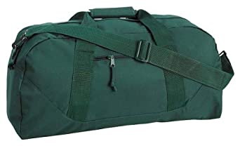 Liberty Bags Large Square Duffel, Forest, One Size