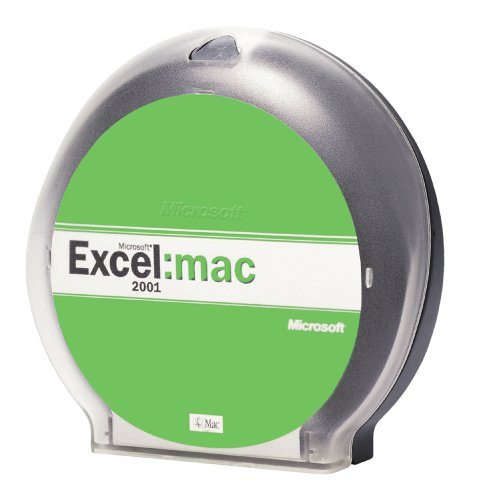 Microsoft Excel for Macintosh 2001 Upgrade [OLD VERSION]