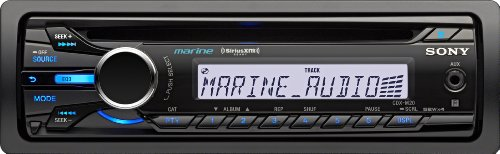 Sony CDXM20 Marine CD Receiver