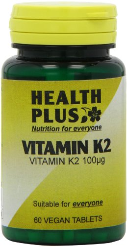 Health Plus Vitamin K2 100µg Joint and Bone Health Supplement - 60 Tablets