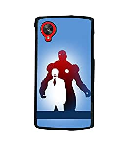 printtech Superhero Avengers Back Case Cover for LG Google Nexus 5::LG Google Nexus 5 (2014 1st Gen)