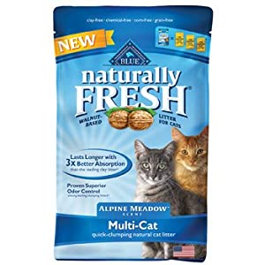 Blue Naturally Fresh Alpine Meadow Scent Multi-Cat Litter, 14 lbs.