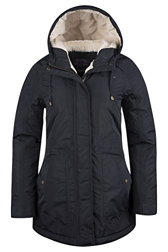 Mountain Warehouse Transatlantic Damenjacke mantel Schwarz DE 36 (EU 38)