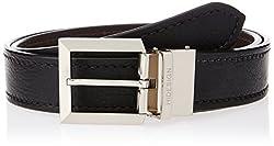 Hidesign Xavier Black Reversible Leather Men's Belt