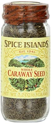 Spice Islands Caraway Seed, Whole, 2.2-Ounce (Pack of 3) by Spice Islands