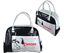 Medium Black and White Snoopy Purse - Snoopy Handbag