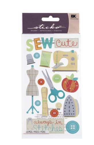 Sticko Cute Stitches Stickers (Sewing Stickers compare prices)
