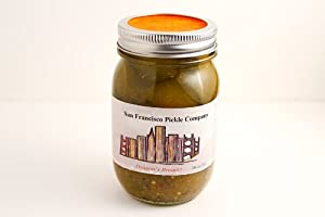 Dragons Breath Ghost Chili Pickles by San Francisco Pickle Company