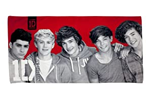One Direction 'Heartthrob' Printed Beach Towel by Linenideas