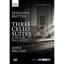 Benjamin Britten: Three Cello Suites