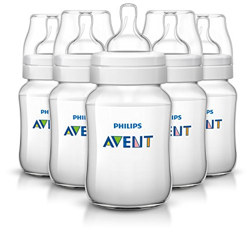 Philips Avent Classic Plus Baby Bottles, 9 Ounce (5 Pack) (Bpa Baby Bottles compare prices)