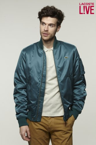 L!VE Taffeta Bomber Jacket