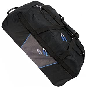 Karabar Extra Large 33 Inch Wheeled Holdall Bag Blackblue