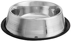 Choostix Dog Feeding Bowl Steel, Medium (1 Piece)