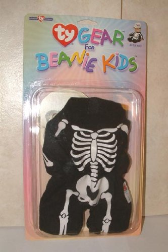 TY Gear for Beanie Kids Skeleton Outfit - 1