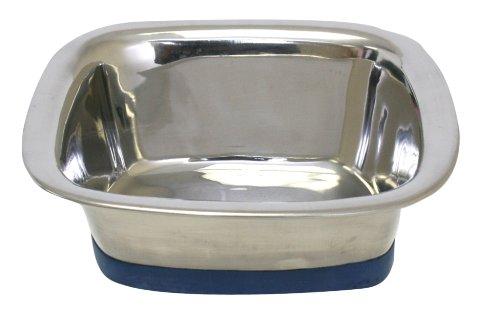 OurPets Premium DuraPet Square Bowl Dog Medium (Square Metal Dog Food Container compare prices)