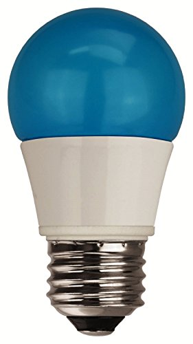TCP 40 Watt Equivalent, Single-Pack LED Blue Light Bulbs, Non-Dimmable, RLA155BL (Single Lightbulb compare prices)