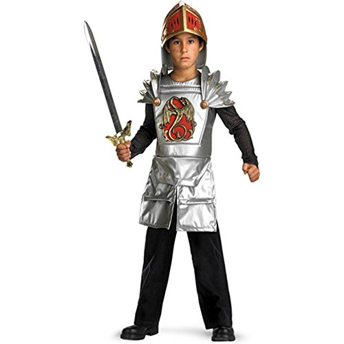 Deluxe Knight of the Dragon Kids Costume