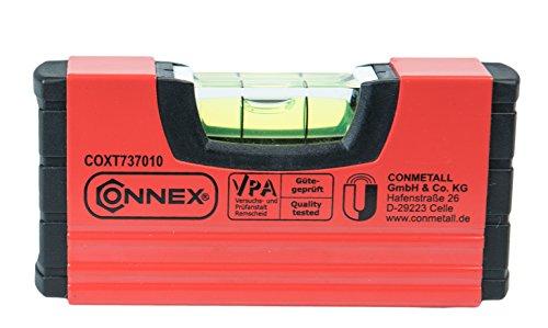 Connex-Mini-Wasserwaage-10-cm-magnetisch-COXT737010