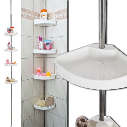 Ablage F?r Dusche Ikea : TecTake Estanter?a para ducha vertical porta-accesorios Estanter?a