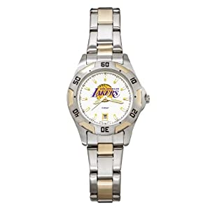 NBA Los Angeles Lakers Ladies All-Pro Two-Tone Watch by Logo Art