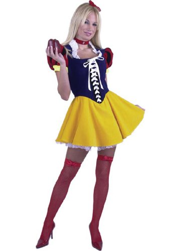Adult Sexy Deluxe Snow White Costume