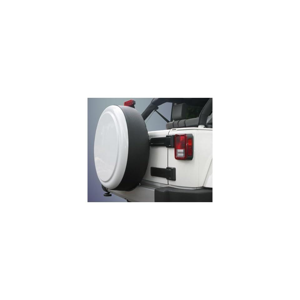 Jeep Wrangler (JK)   32 Color Matched Rigid Tire Cover (Plastic Face & Vinyl Band)  Sahara Tan