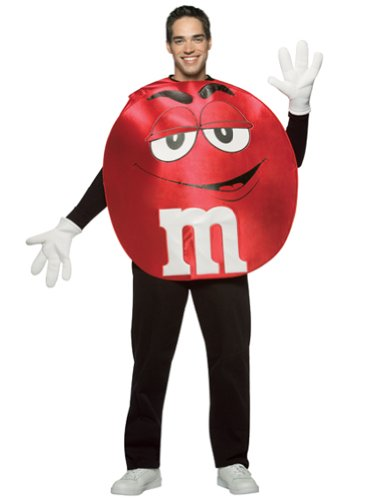 Red M&M Theatre Costumes Easy Costumes Food Candy Couples Costume Idea