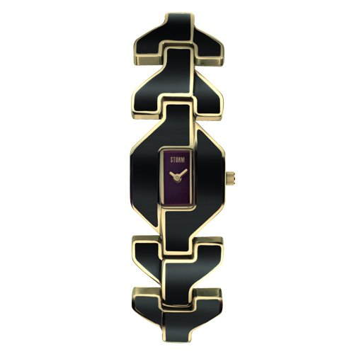 Storm Mashiko Gold Black Ladies Watch 4679/BK/GD