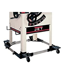 Jet 708174 Mobile Base For The Jtas 10 Jet Table Saw With 50 Inch Fence And Legs