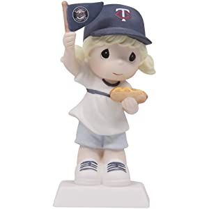 Precious Moments Minnesota Twins Girl Fan-Tastic Day Figurine by Precious Moments