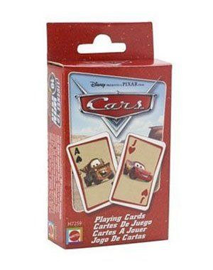 Cars Playing Cards Cards
