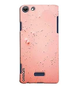 Omnam Simple Elegant Pink Effect Printed Designer Back Cover Case For Micromax Selfie 3 Q348