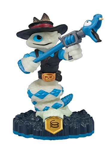 Activision Skylanders SWAP Force Rattle Shake GLOW IN THE DARK Hybrid Toy