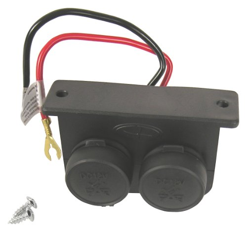 Custom Accessories 10242 Auxiliary Twin Power Outlet Picture