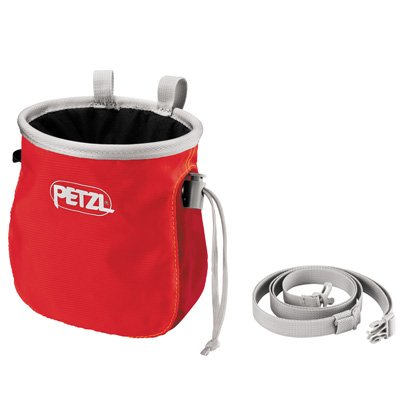 Petzl Saka Chalk Bag - Red