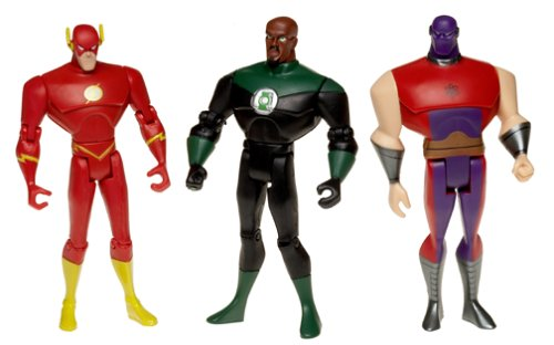 Picture of Creative Innovations & Sourcing Justice League Basic Figures: Flash, Atom Smasher, Green Lantern 4.75