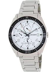 Citizen Eco-Drive Analog White Dial Men's Watch AP4010-54A