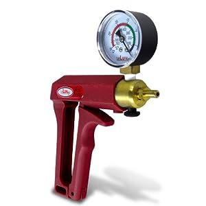 """LeLuv MAXI + Gauge Vacuum Pump Kit - 9"""" Acrylic Cylinder"""