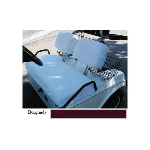 Three Piece Regular Set Golf Cart Seat Covers (Club Car Golf Cars, up to and including the year 1999)