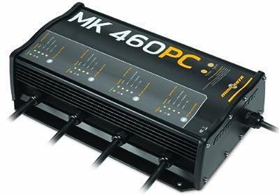 Minn Kota MK 460 PC Precision On-Board 4-Bank Charger