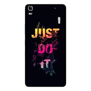 Back cover for Lenovo K3 Note JUST DO IT