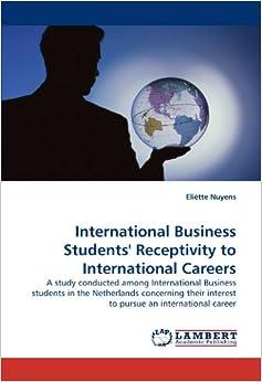 A view on pursuing a career as an international businessman