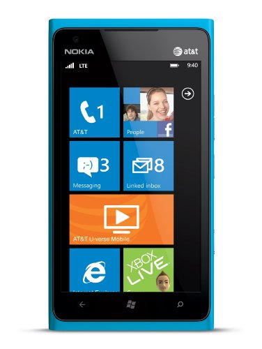 Nokia Lumia 900 Blue (Cyan) Factory Unlocked
