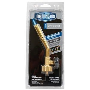 BernzOmatic WT2201 Brass Pencil Flame Torch Head WT2201