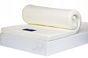 Bodymould 3  Single Memory Foam Mattress Topper with Cover       Customer review and more description
